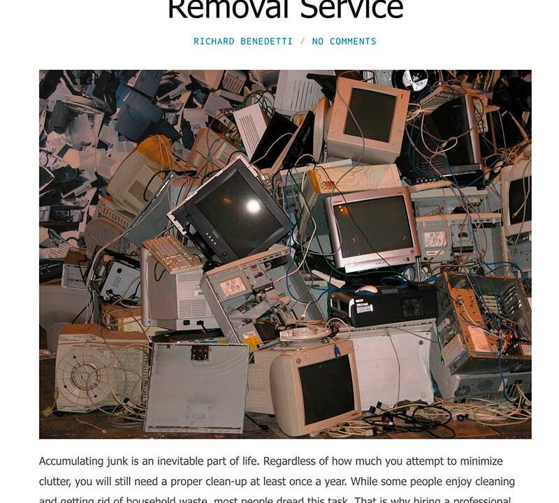 Hiring a junk removal service in Los Angeles
