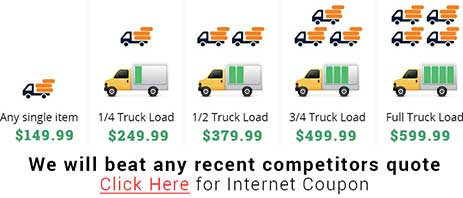 Los Angeles junk removal company pricing image