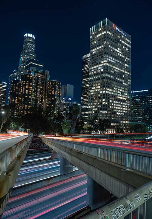 Los Angeles freeway junk removal